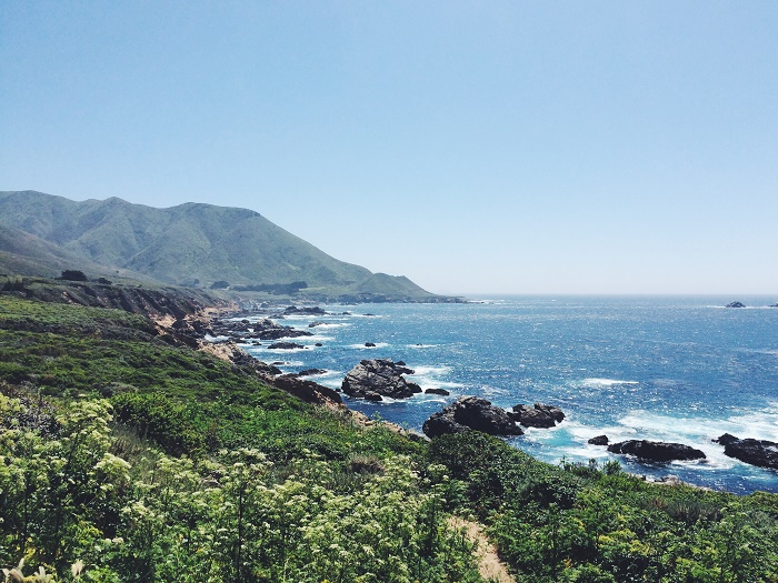 California's coast from development