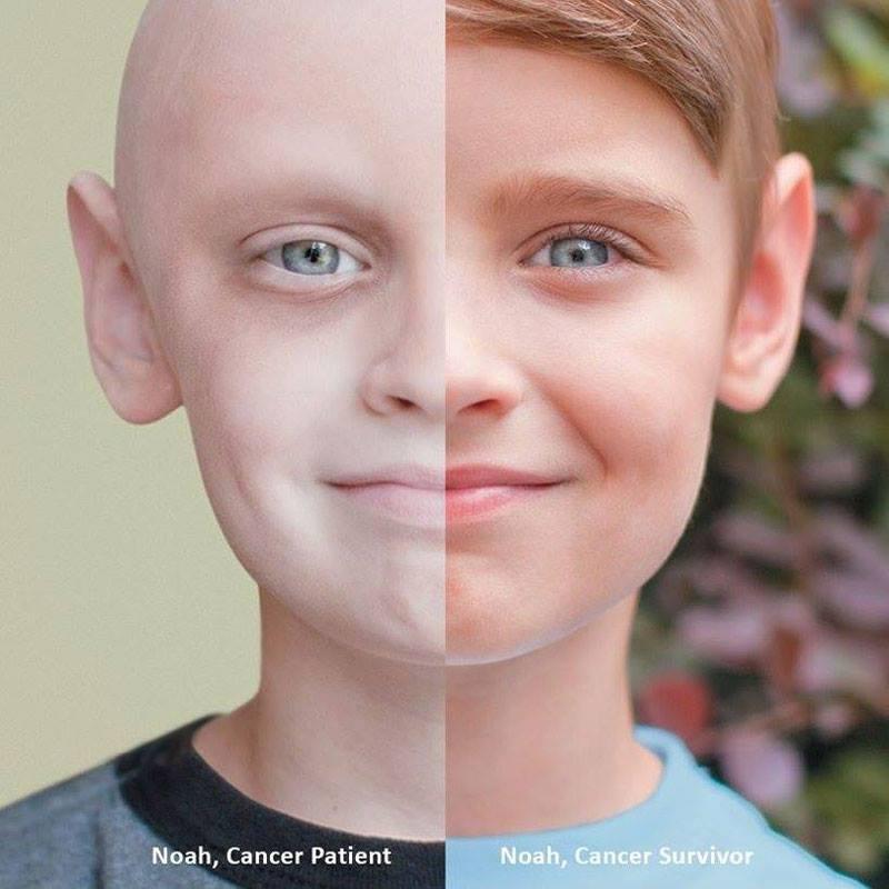 Cancer patient vs. Cancer survivor. Just amazing.