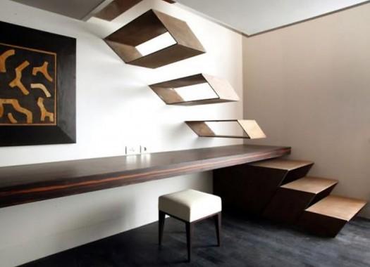 Minimalism Floating Stairs