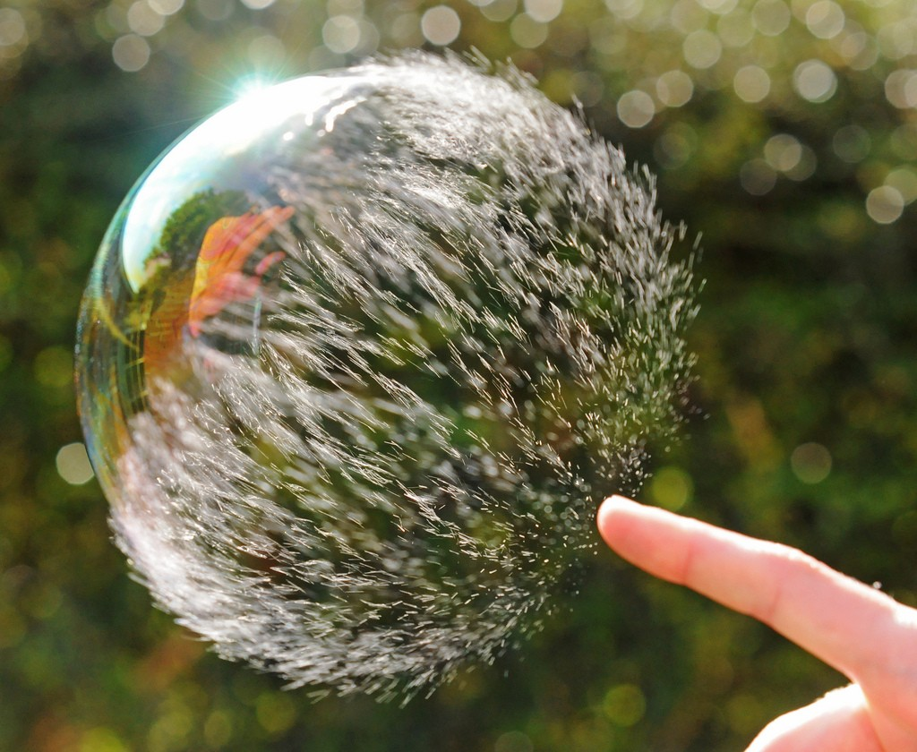 Perfectly Timed Bubble Pop