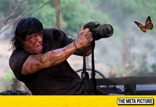 Extreme Photography With Rambo