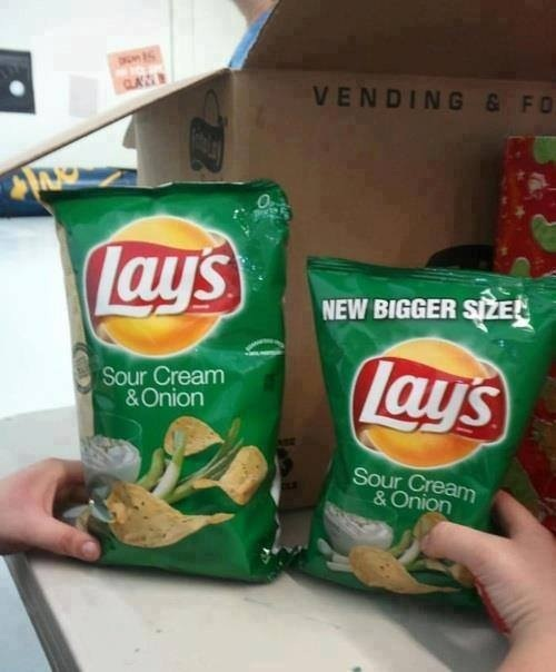 The time Lay's tried to pull the wool over your eyes