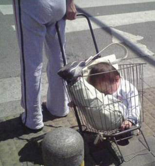 baby-carrier-grocery-basket