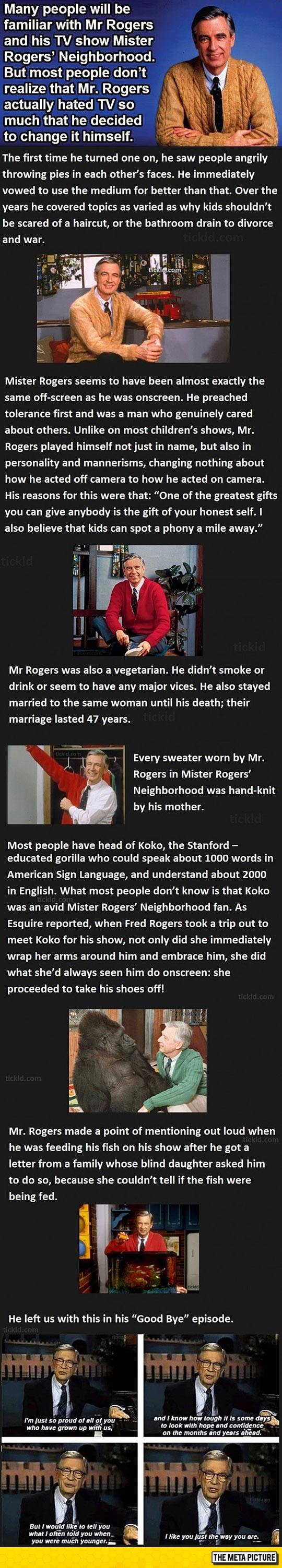 Things You Might Not Know About Mr. Rogers