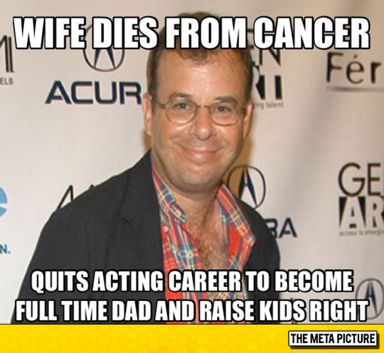 cool-Rick-Moranis-cancer-wife