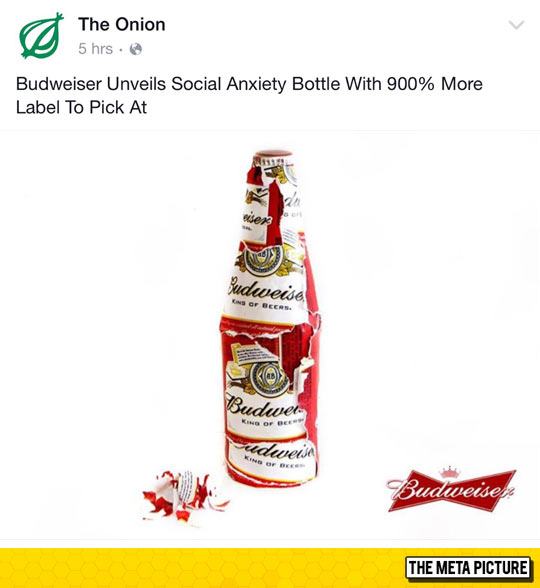 Social Anxiety Bottle