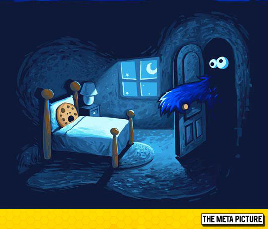 funny-Cookie-monster-closet-bed