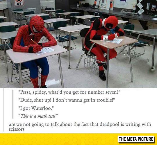 Where Is your Pen Deadpool?