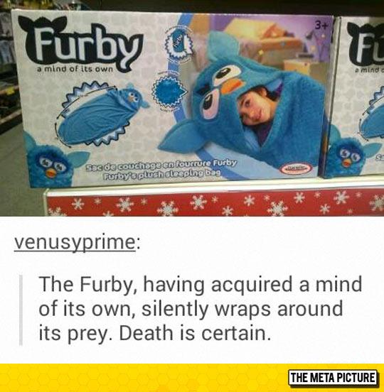 Furby Sleeping Bag: The Silent Killer