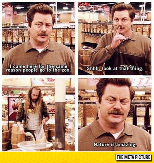 funny-Ron-Swanson-Walmart-weird-people