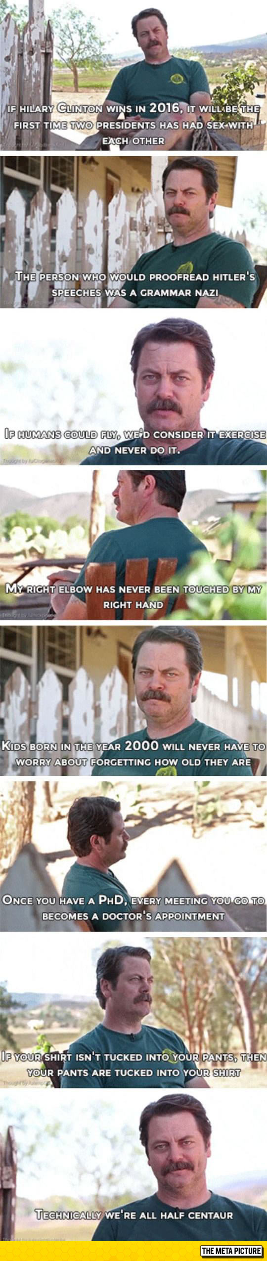 funny-Ron-Swanson-shower-thoughts-quotes