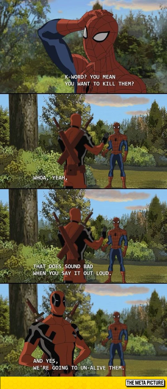 funny-Spiderman-k-word-Deadpool