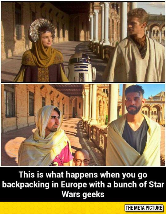 Star Wars Geeks In Europe