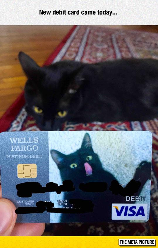 New Debit Card