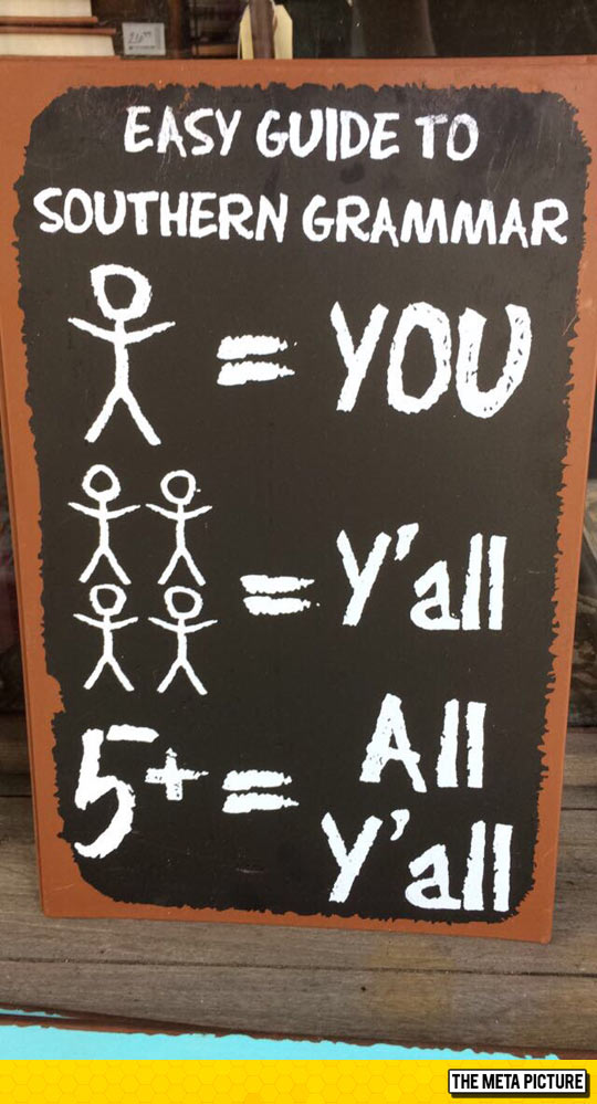 Southern Grammar 101