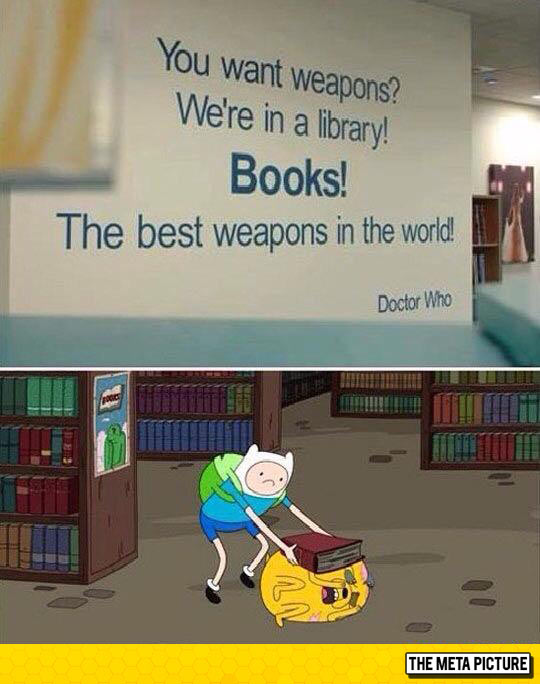 funny-books-library-sign-Adventure-Time