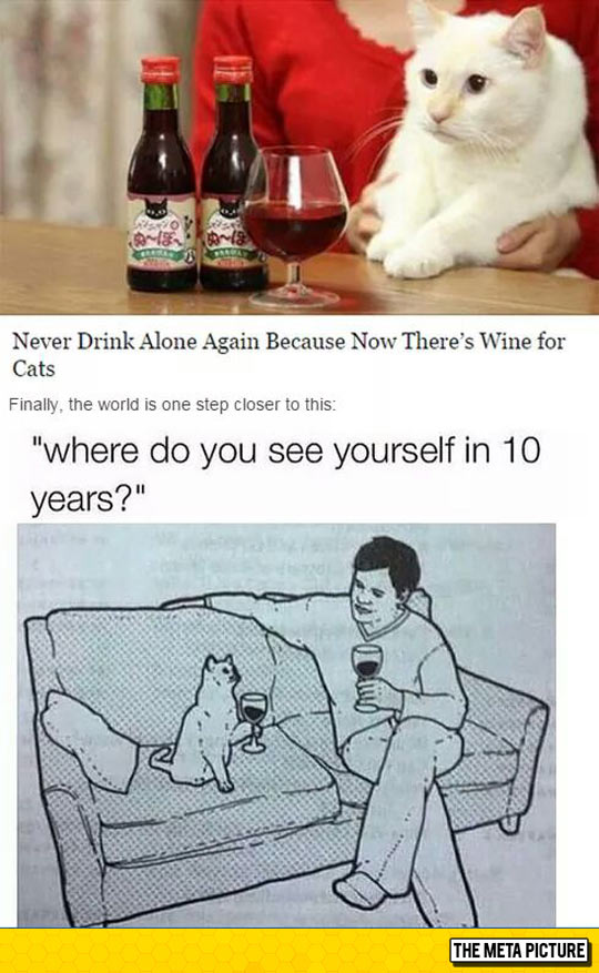 Never Drink Alone Again!