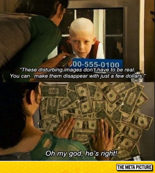 funny-covering-TV-screen-dollar-bills