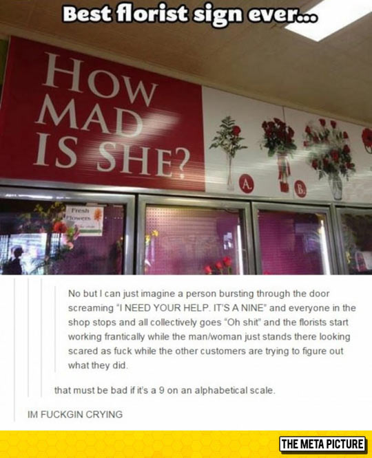 Florist Sign