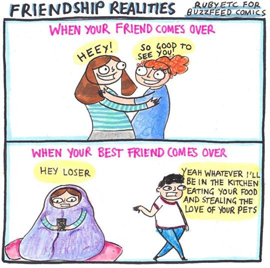funny-friend-hug-comic-food