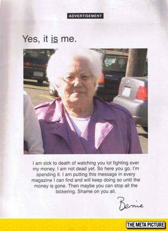 Grandma's Epic Revenge