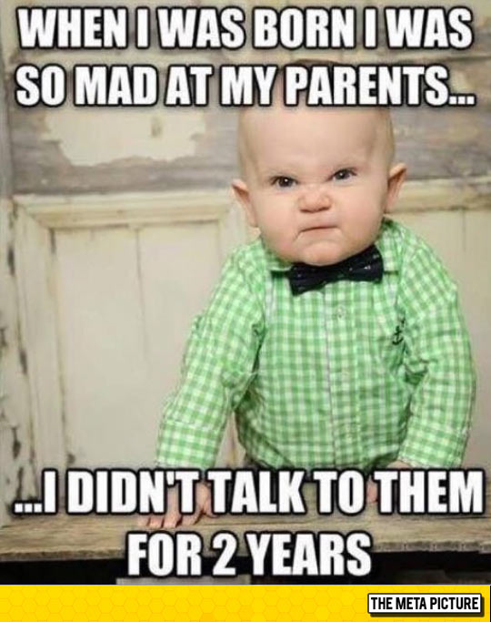 funny-mad-baby-parents-born-talk