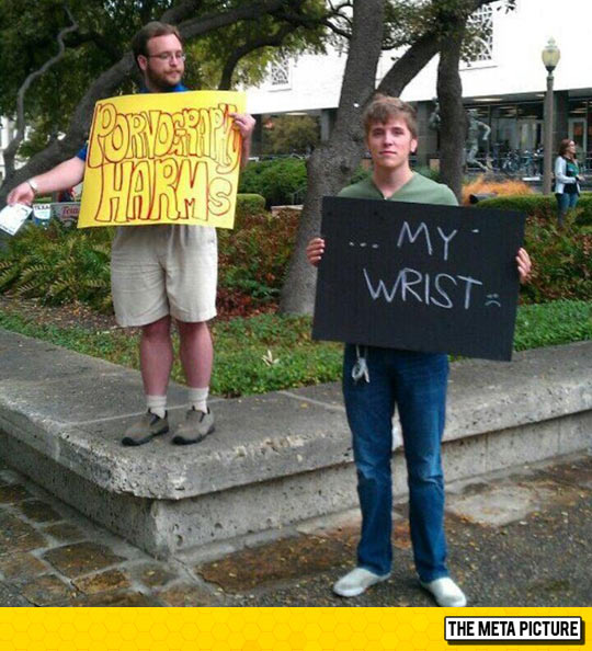 funny-man-sign-harm-wrist