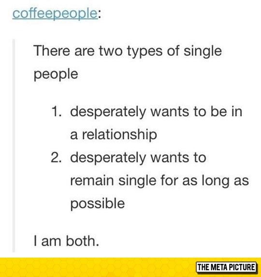 2 Kinds Of Single People