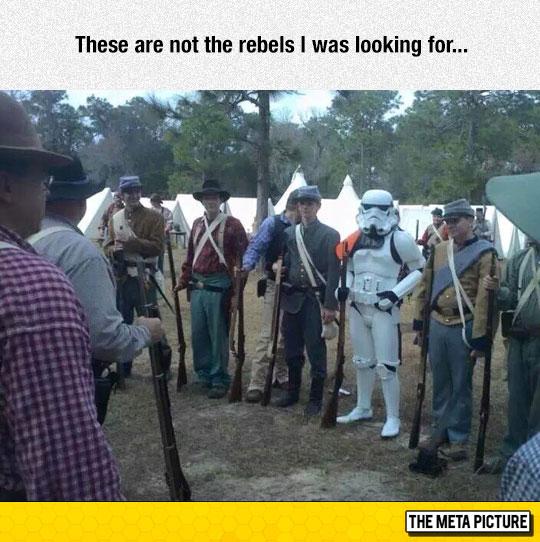 Confused Stormtrooper