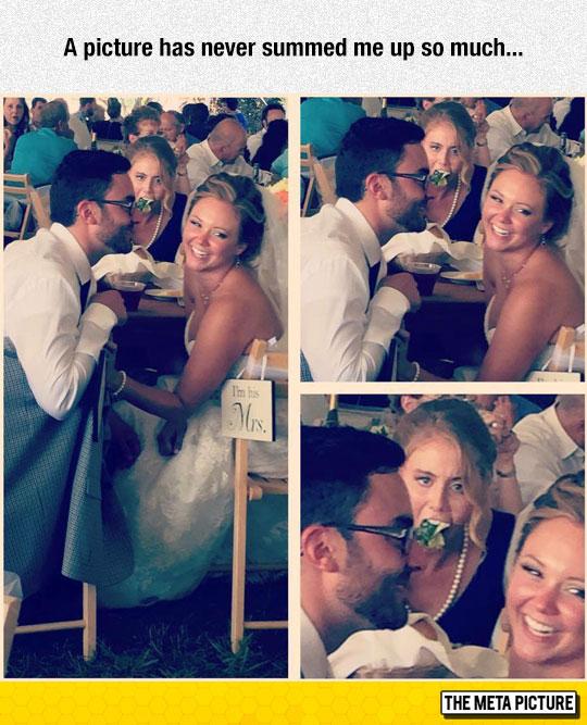 funny-wedding-girl-eating-salad