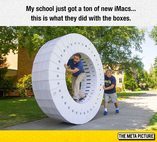 The iMac Wheel