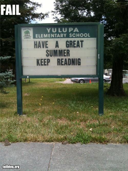 school-sign-dumb