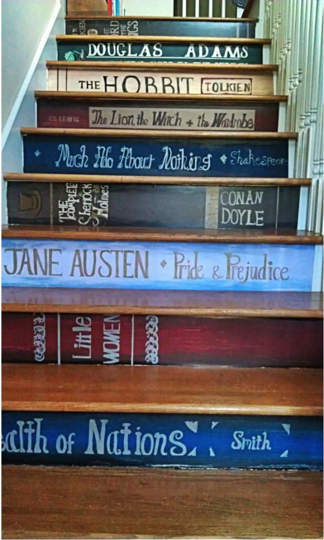 A Book Nerds Staircase