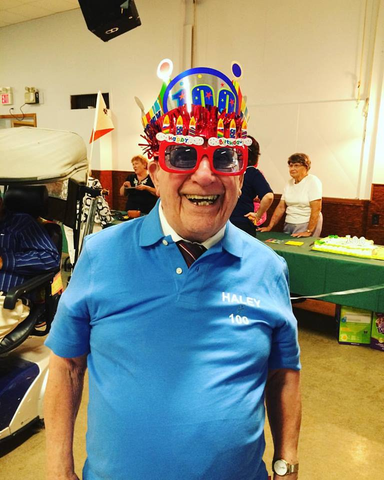 A Couple Weeks ago It was my Great Grandpa's 100th Birthday