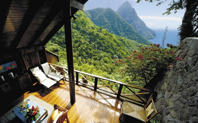 Amazing view from a Balcony