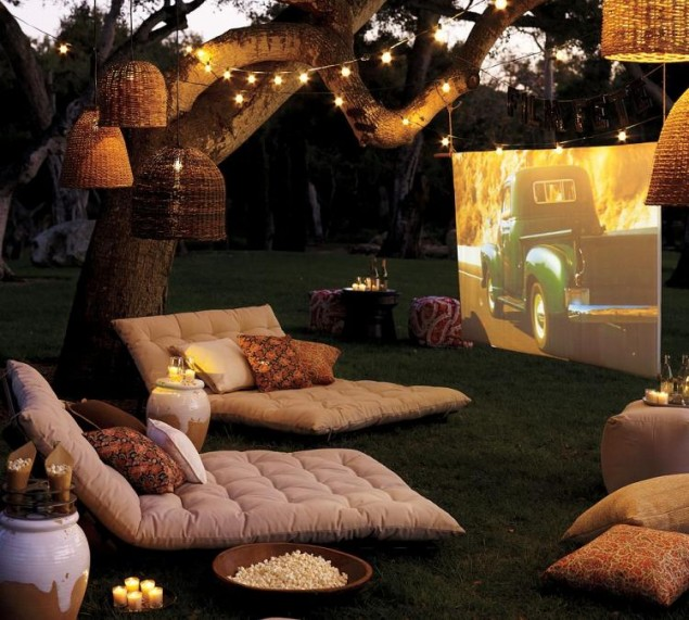 Awesome Outside Movie Theater Design