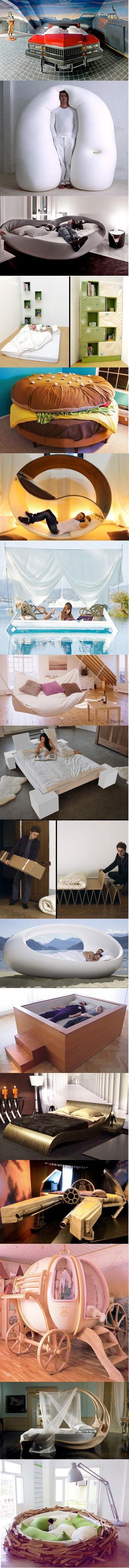 Creative Bed Design