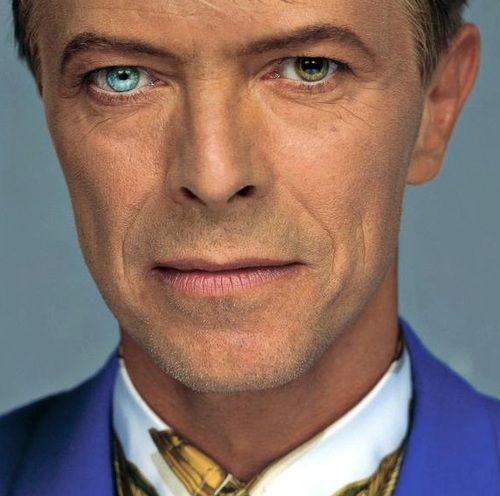 David Bowie's eyes