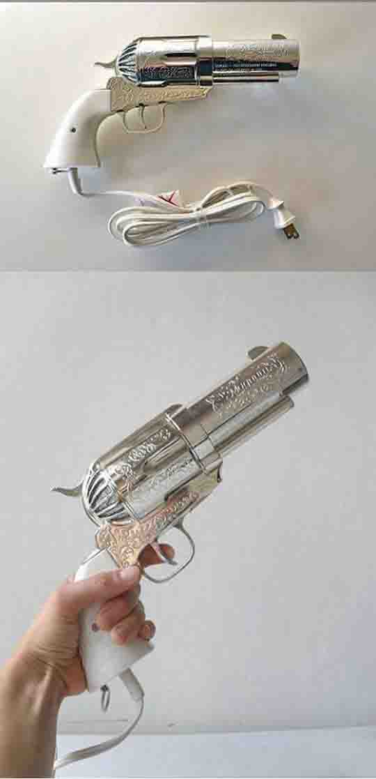 Hair Dryer With A Twist