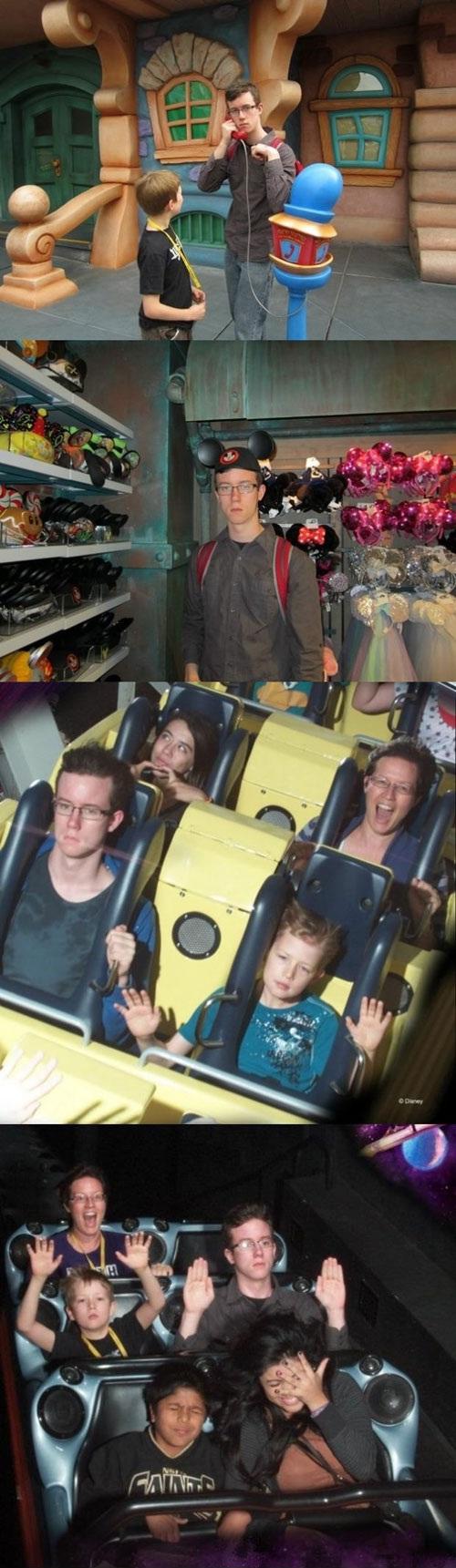 Happy Trip to Disneyland