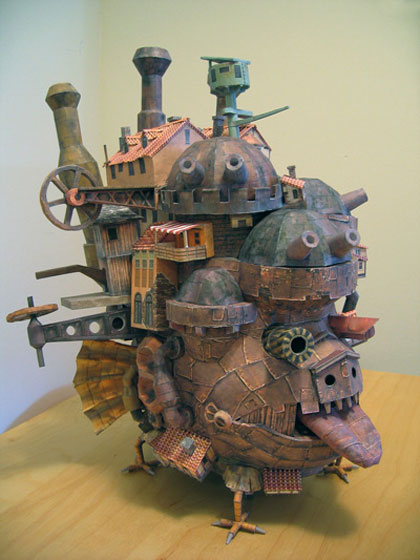 Howl's Moving Castle, Made of Paper
