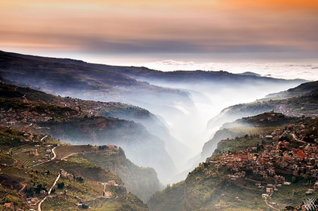 Kadisha Valley in Northern Lebanon