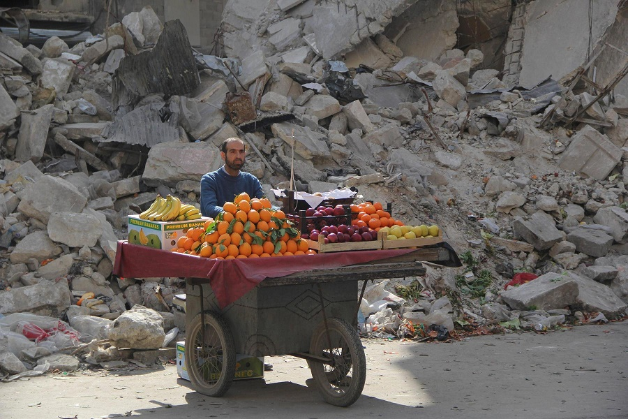 Life must go on in Syria