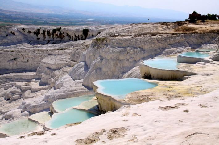 Natural cascading pools