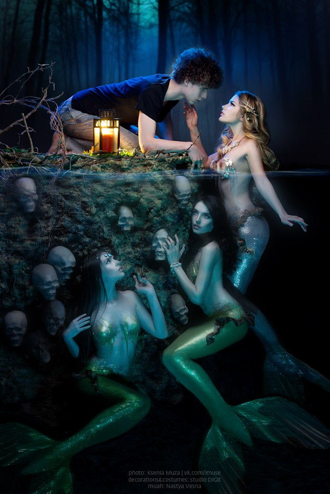 The deceptive mermaids