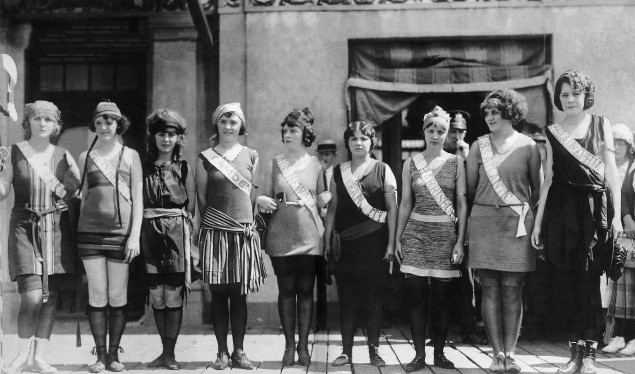 The first Miss America pageant, 1921