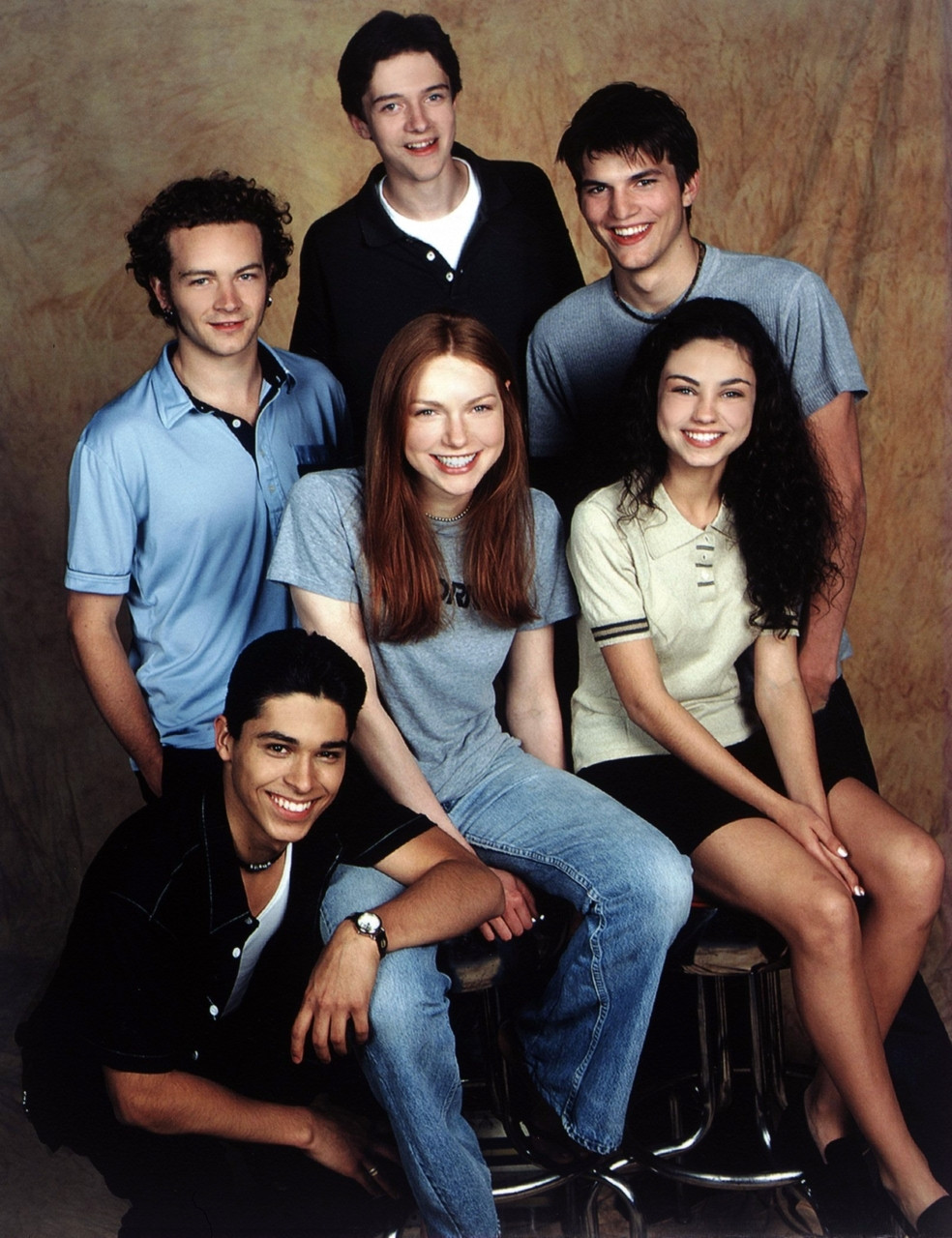 The original casting photo for That 70's Show.