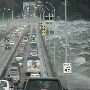 This was Saturday in Seattle on the 520 floating bridge