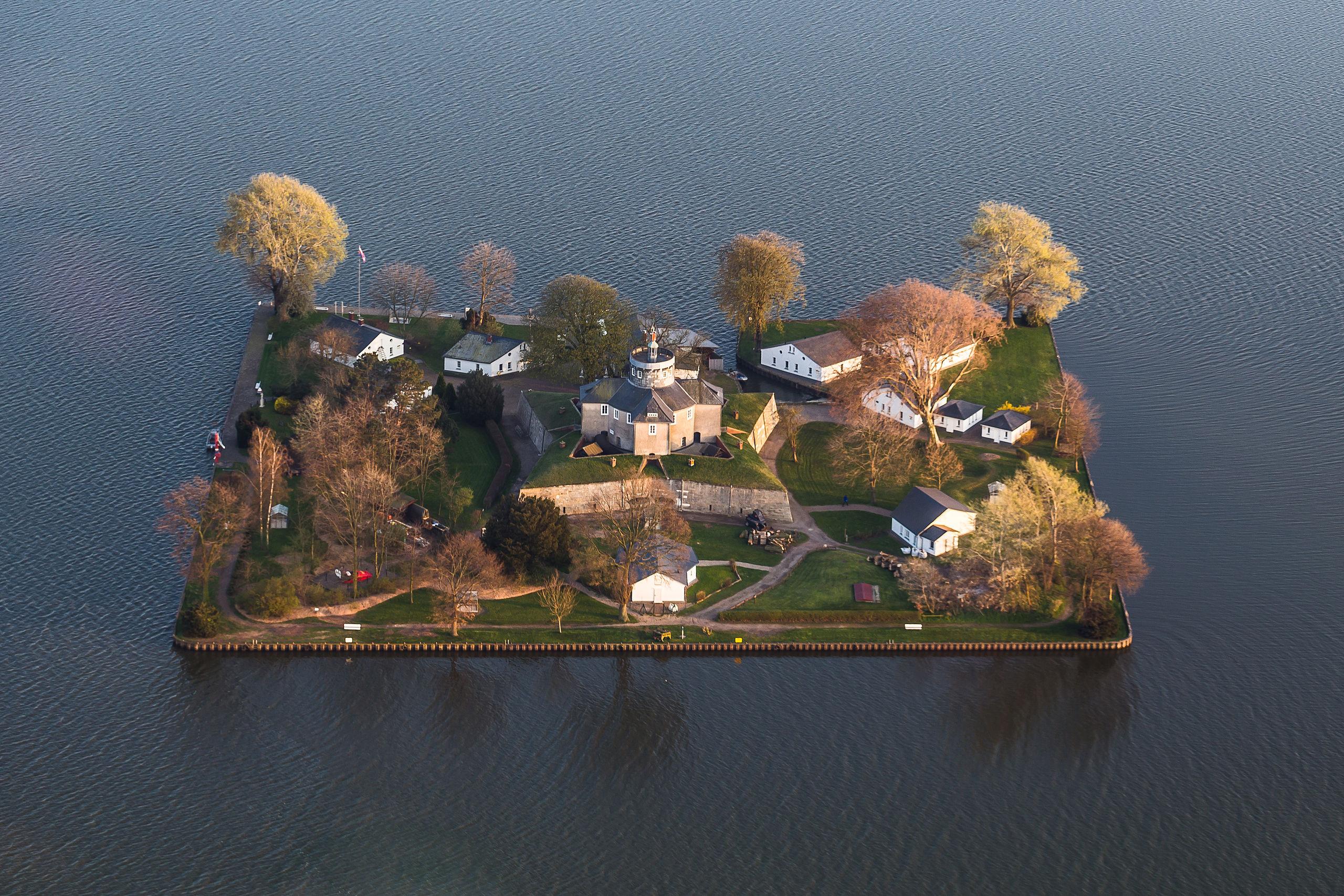 Wilhelmstein, a tiny military island, near Hannover, Germany