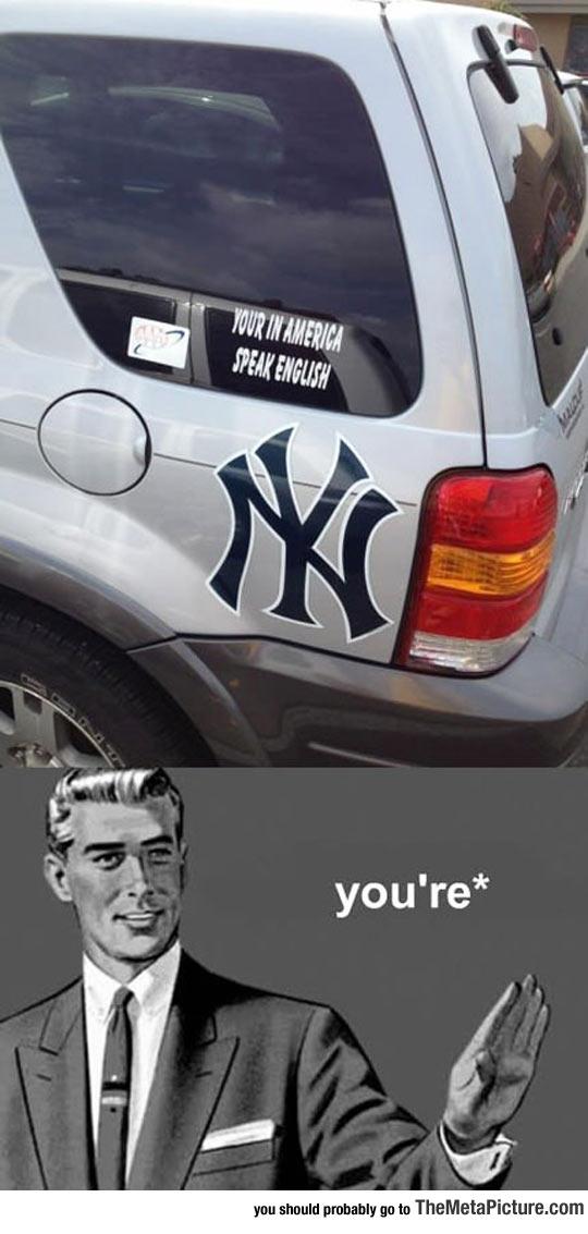 cool-American-car-decal-speak-English